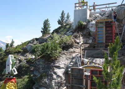 Vercorin: Télécabine du Crêt du Midi