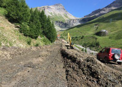 Montana: Aménagement de piste de ski