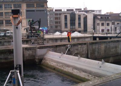 Barrage du Seujet : surveillance géodésique