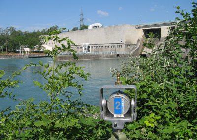 Barrage de Verbois : surveillance géodésique