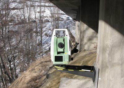 Saint-Martin : Surveillance du pont noir sur la Borne