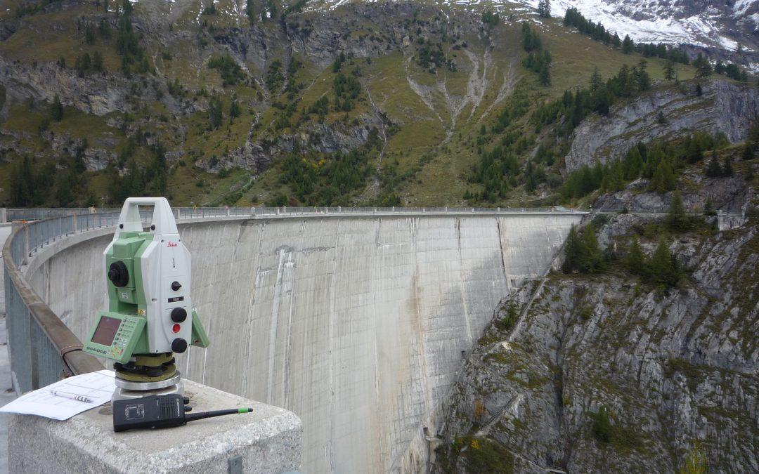 Barrage de Zeuzier : surveillance géodésique