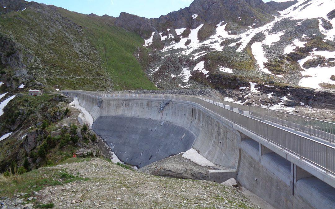 Barrage d'Illsee : surveillance géodésique