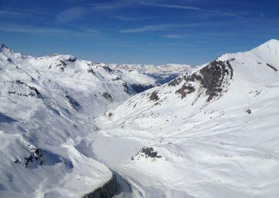 Glaciers (VS): Détermination de la profondeur de glace