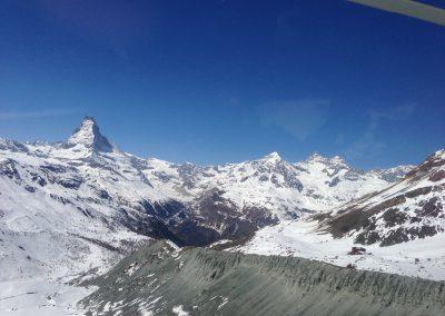 Zermatt: Détermination de la profondeur de neige et de glace