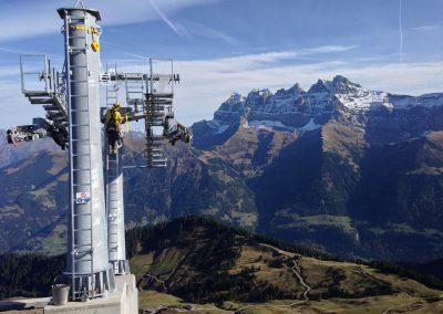 Val d'Illiez: Télésiège de la Pointe de l'Au