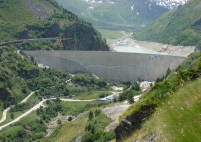 Barrage des Toules : surveillance géodésique
