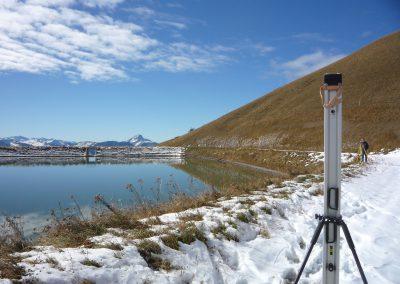 Digue des Tours d'Aï : Surveillance géodésique