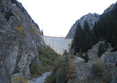 Barrage de Gebidem : surveillance géodésique